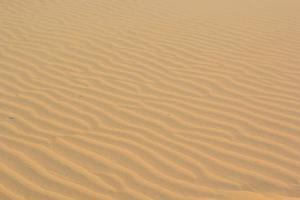 Texture de sable à phan thiet, vietnam photo