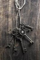 clés vintage photo