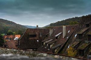 ausblick von der klostermauer photo
