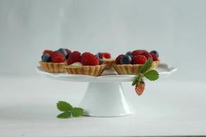 cupcakes aux fruits des bois photo