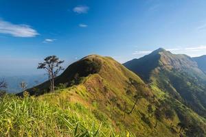 la longue montagne photo