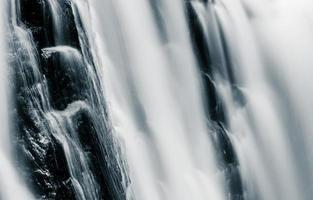 Détails de Kilgore Falls, à Rocks State Park, Maryland.