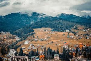 maisons montagnes photo