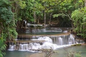 huay mae khamin, cascade