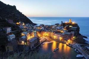 Vernazza à Cinque Terre en Italie photo