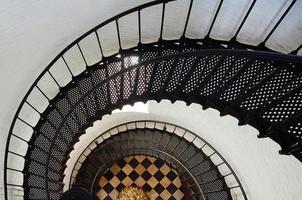 escalier en colimaçon de phare photo