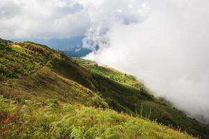 montagne inthanon photo