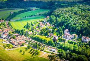 Réserve naturelle de la Suisse saxonne près de Dresde
