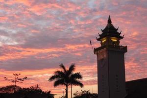 crépuscule du matin photo
