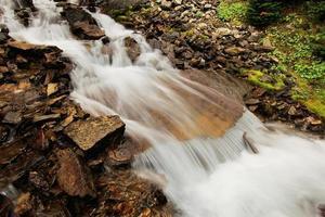Seven Veils Falls, lac O'hara, parc national de Yoho, Canada