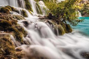 cascade de soie photo