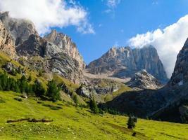 Dolomite alpes italie photo