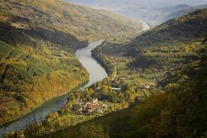 montagne tara et rivière drina