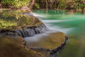 cascade huay mae khamin