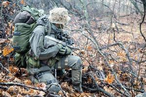 soldat jagdkommando photo