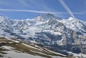 jungfrau, montagne photo