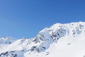 chaîne de montagnes photo