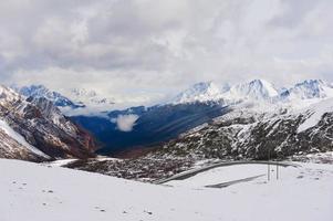 montagne enneigée photo