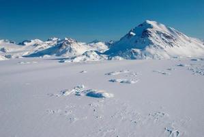 Groenland, montagnes