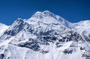 sommet de la montagne photo