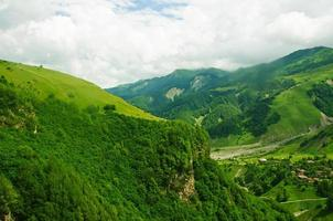 montagnes vertes photo