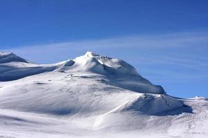 montagnes de télémark