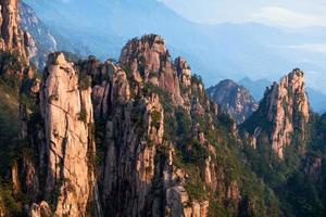 Mont Huangshan (montagne jaune), Chine photo