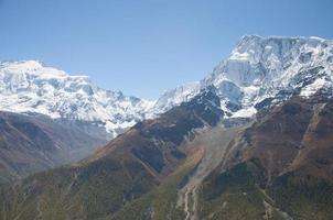 montagnes de l'Himalaya photo