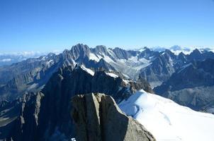 panorama de montagne photo