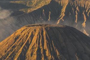 montagne du volcan batok