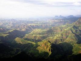 montagnes du Simien photo