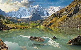 montagnes de l'Altaï photo