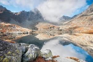 vallée des cinq lacs (plis kotlina piatich spisskych) photo