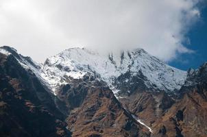 le sommet de l'Himalaya photo
