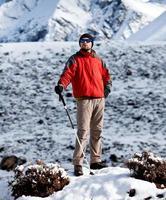 randonnée dans les montagnes de l'Himalaya
