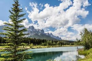 vue panoramique sur le lac de la carrière
