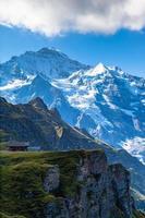 Vue de la Jungfrau de Mannlichen photo