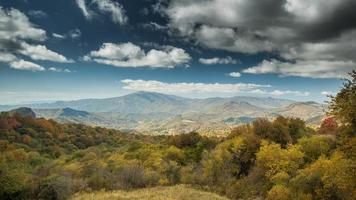 vallée de la Géorgie, montagnes photo