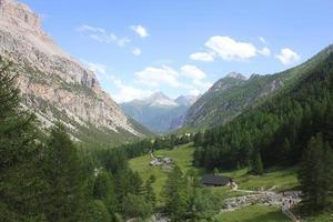 vallée dans la montagne