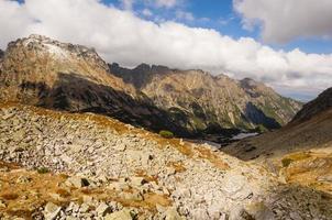 chaîne de montagnes en pologne