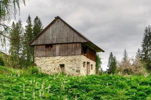 maison abandonnée. photo