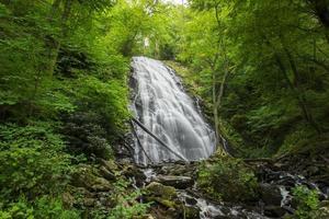 Crabtree Falls en Caroline du Nord