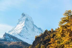 Mont Cervin, Zermatt, Suisse photo