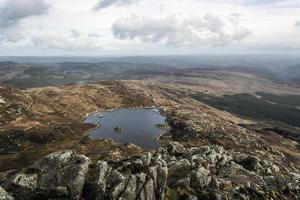 Moel Siabod Snowdonia au nord du Pays de Galles photo