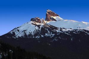 Black Tusk Mountain en Colombie-Britannique photo