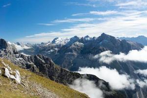 Panorama des Alpes depuis Karwendel photo