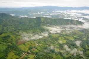 Vue aérienne au costa rica photo