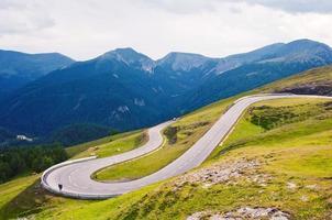 route alpine haute photo