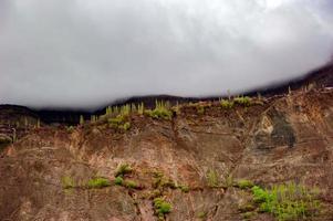 vallée en montagne photo