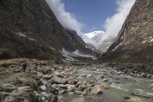 sentier de l'Annapurna au Népal photo